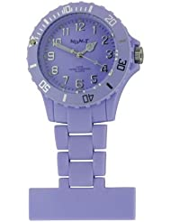 Stunning Violet Neon Fob Watch from Funky Fobz