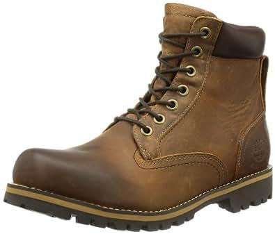 "Timberland Earthkeepers Rugged 6"" Waterproof, Men's Boots, Copper Roughcut, 6.5 UK, 40 EU"