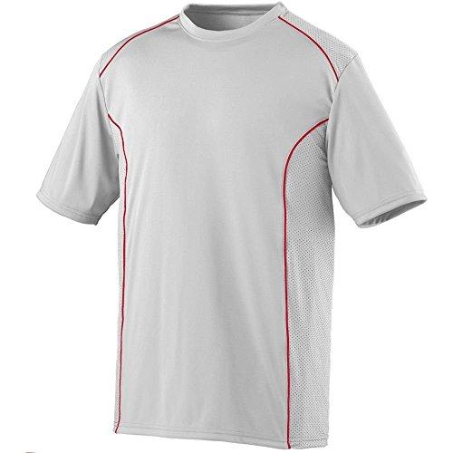Augusta Herren Sportswear Winning Streak Crew weiß / rot