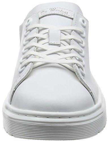 Dr. Martens Fusion Dante, Chaussures Plates, Unisexe - Blanc Adulte