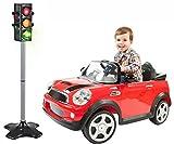 Brigamo Juguete Semáforo con Cambio de luz para Auto de y peatones Tráfico