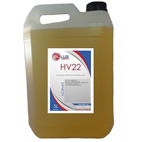 DLLUB – HUILE HYDRAULIQUE HV 22 – 5 litres pas cher