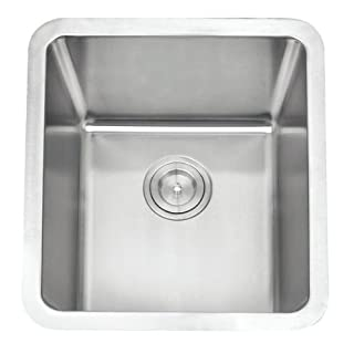 Undermount Brushed Stainless Steel Bowl Kitchen Sink (A01 bs)