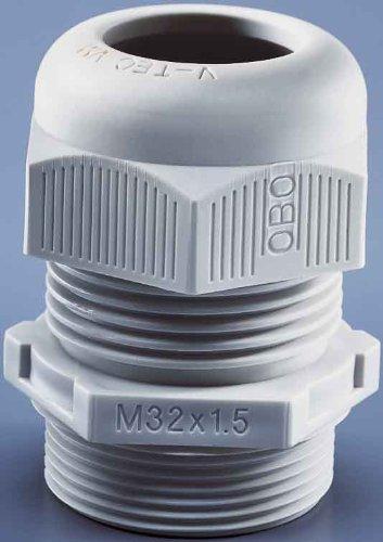 Preisvergleich Produktbild obo-bettermann System conex. IJF.–Leitungseinführungen v-tec-vm M32grau klar