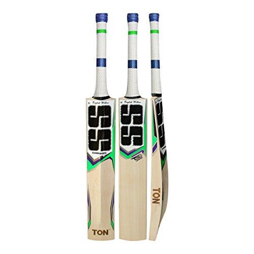 S+S SS Tonnen T20Legend handgepflückter Cricketschläger aus englischem Weidenholz ideal für Leder Ball-2018Edition Anti Scuff Tabelle und Tischtennisschläger-Hülle