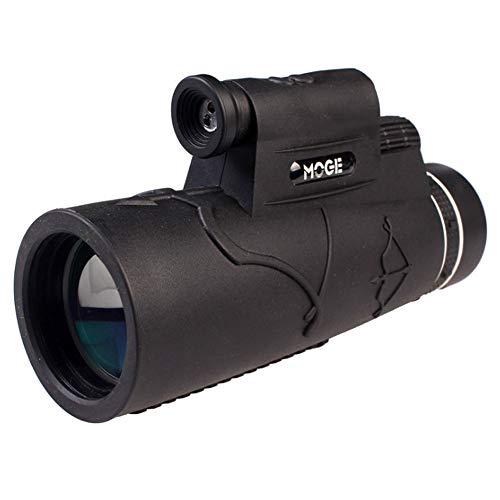 Monokularteleskop, 50X60 High Power Prism Monocular Scope mit Smartphone-Adapter, wasserdicht für...