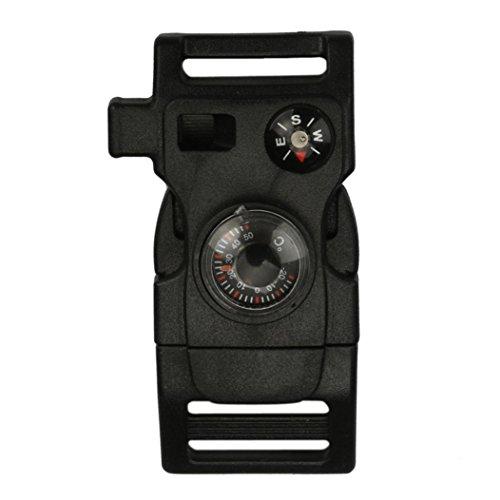 HCFKJ Seitliche Schnalle mit Kompass Feuerstein Feuer S… | 00743960277333