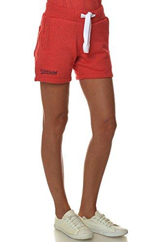 M.Conte Concetta Courts Pants Pantalons Sweat Pants Sport Pantalons femmes Bleu Neon Rose Blanc Rouge S M L XL Rouge