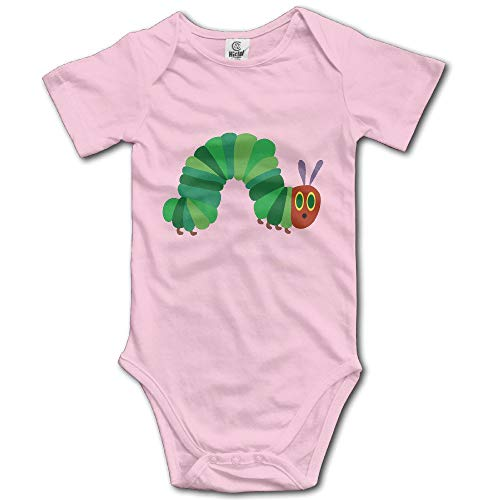 Baby Boys Girls Short Sleeve The Very Hungry Caterpillar Bobysuit Onesies Onesies 6 Months (Surf-cookie-cutter)
