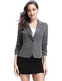 nuovo di zecca 66fe9 b68fe Amazon.it: donna - Grigio / Giacche da abito e blazer ...