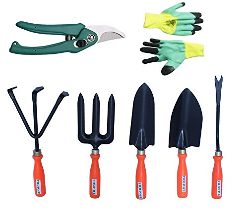 Truphe Premium Gardening Tools Set with Cutter and Gloves (3)