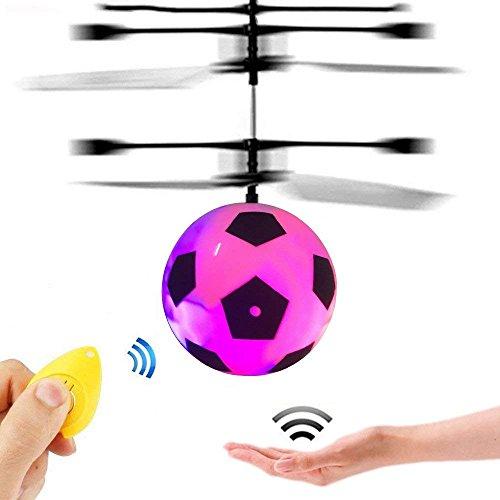 Spielzeug für 3-16 Jahre alte Mädchen, GZMY LED Flashing Flying Hubschrauber Spielzeug für 3-12 Jahre alte Jungen Geschenke für Jungen Mädchen Weihnachtsgeschenke