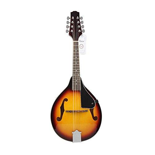 Andoer 8-Saiten-Mandoline, Instrument mit Palisander-Brücke, verstellbar
