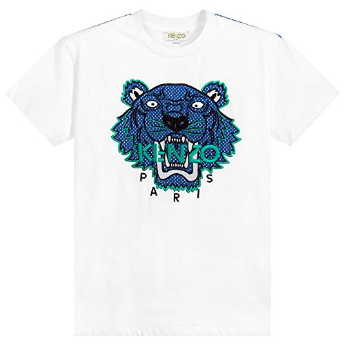 678da368 Kenzo Boys Tiger Jb 4 T-Shirt in White Years