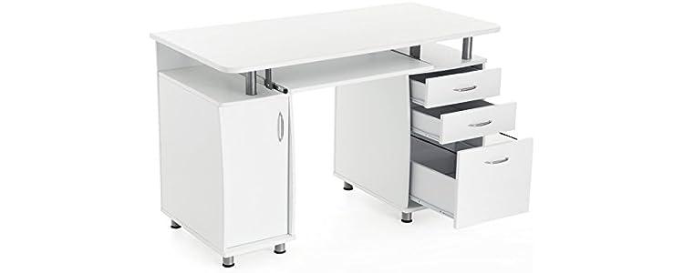 Escritorios y mesas para ordenador alacenas for Mesa ordenador amazon