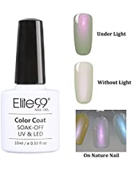 Elite99 Vernis A Ongles Semi Permanent Coquillage color Serie Gel Polish UV LED Nail Art Manucure 10ml 9501