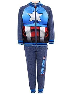Marvel Avengers Captain America - Chándal - para niño
