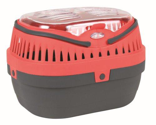 Trixie 5903 Traveller Pico Transportbox für Katzen und Kleintiere, 23 × 16 × 17 - Transportbox Für Hamster