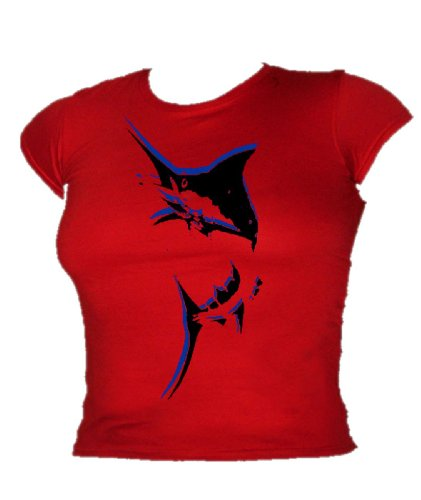 Blue Ray T-Shirts - T-shirt - Femme Rouge - Rouge