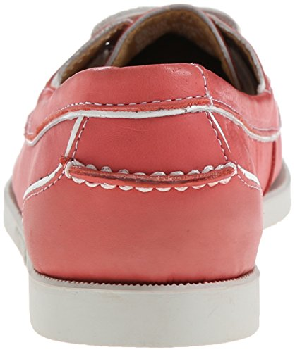 Sebago Women's Docksides Twoeye Oxford, Coral Leather, 10 M US Coral Leather