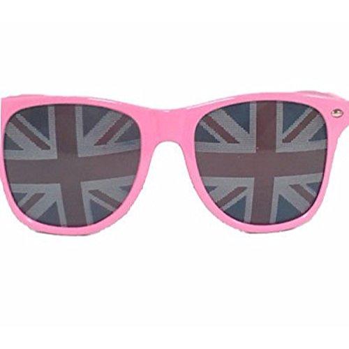 Fashion bazar Damen Sonnenbrille, rosa