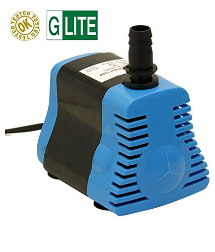 G.Lite Submersible Pump for Desert Air Cooler, Aquarium, Fountains, 18W, 1.6 m