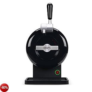 The Sub Black Edition Krups VB650810 Spillatore di birra, nero