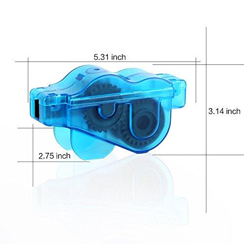 Mture Fahrrad Kettenreinigungsgerät Cycling Bike Bicycle Chain Cleaner – Blau - 6