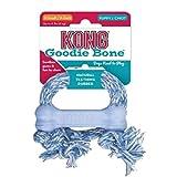 KONG - Extreme Goodie BoneTM - Os en Caoutchouc pour mâchoires puissantes, Noir - Chiens Moyens