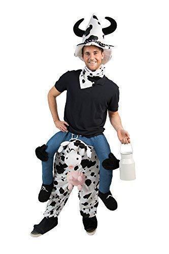 Huckepack Kostüm - Karnevalsmanufaktur Huckepack Kostüm Kuh Unisize mit Hut
