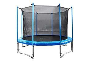 fa sports flyjump monster garden trampoline bleu 305 cm sports et loisirs. Black Bedroom Furniture Sets. Home Design Ideas