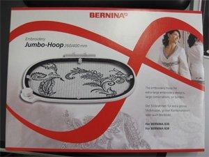 Stickrahmen JUMBO-HOOP 260 x 400 mm für BERNINA 830/750/780 -