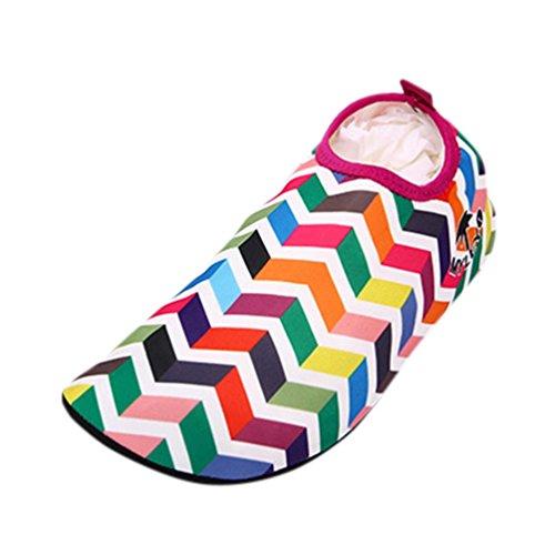 artistic9Herren Frauen Schwimmen Tauchen Schuhe Surf Schnorcheln Yoga Socken Beach Walking Schuhe, blau (Walking-schuhe Bewegung)