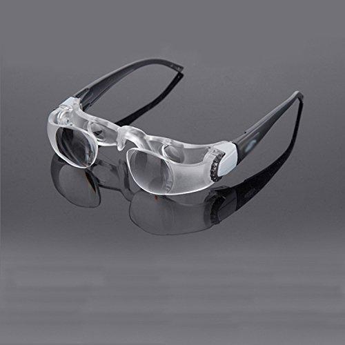 HZX Angelbrille - Beobachten Sie die Treibende High-Definition-Angelbrille - vergrößern Sie Das Polarisations-Polarisations-Angel-Teleskop,Kurzsichtigkeit,A