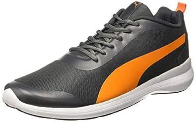 Puma Men's Lazer Evo IDP Grey Running Shoes-6 UK (39 EU) (7 US) (37189604_a)
