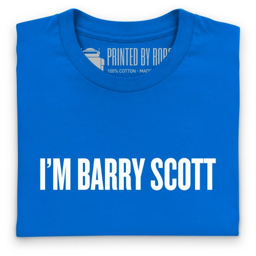 I'm Barry Scott T-shirt, Uomo Blu royal
