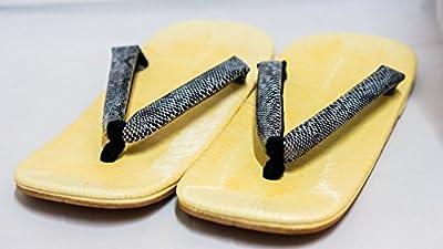 Zori Setta: Zapatos de las sandalias de los hombres auténticos Histórico 26.5cm del diseño del modelo de la serpiente