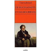 De Buonaparte et des Bourbons
