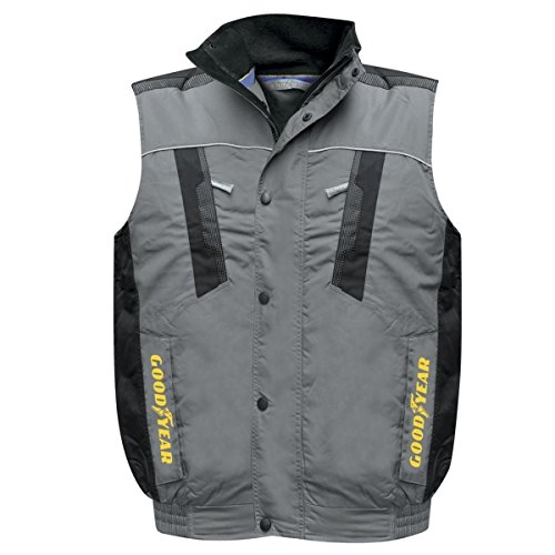 Newsbenessere.com 41SFwD3L2JL Gilet Goodyear In Tessuto Oxford Impermeabile