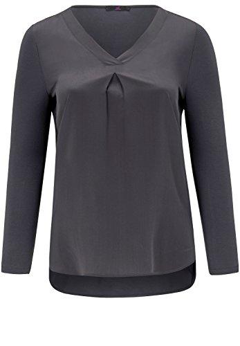 Emilia Lay Damen Blusen-Shirt Aus Seide Kellerfalte