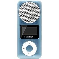 "Sunstech Sedna - Reproductor de MP3 (4 GB, pantalla de 1,1"", radio) azul"
