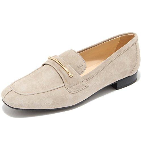 9266I mocassini donna TOD'S lingotto scarpe shoes women Sabbia