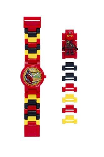 Lego-Ninjago-Jungle-Kai-Childrens-Quartz-Watch-with-Multicolour-Dial-Analogue-Display-and-Multicolour-Plastic-Strap-8020134