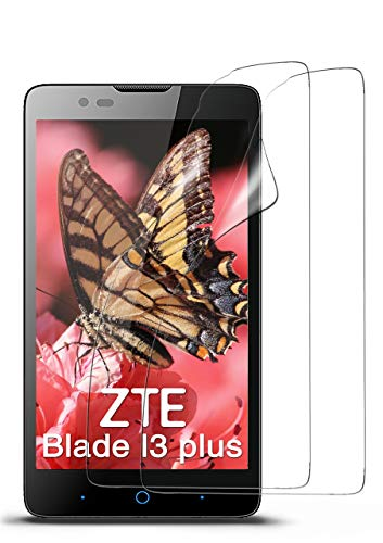moex 2X ZTE Blade L3 Plus | Schutzfolie Klar Bildschirm Schutz [Crystal-Clear] Screen Protector Display Handy-Folie Dünn Bildschirmschutz-Folie für ZTE Blade L3 Plus Bildschirmfolie