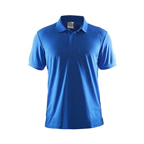 Craft, Maglietta Polo Uomo Piqué Classic sweden blue