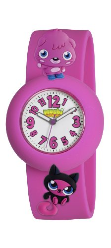 Moshi Monsters Poppet And Sooki Yaki Charms Watch - Pink