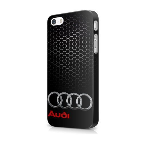 "COUTUM iPhone 6/6S (4.7"" Version) Coque [GJJFHAGJ67249][AUDI LOGO THÈME] Plastique dur Snap-On 3D Coque pour iPhone 6/6S (4.7"" Version) AUDI LOGO - 016"