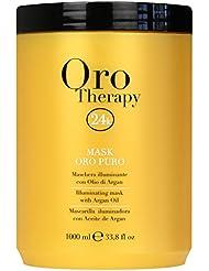 oro therapy 24k masque illuminant huile d argan 1000 ml