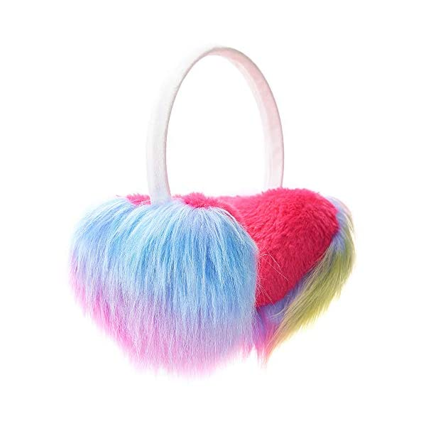 Gifts Treat Paraorecchie Paraorecchie per ragazze in peluche design carino 1 spesavip