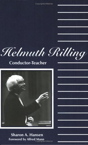 Title: Helmuth Rilling Conductor teacher